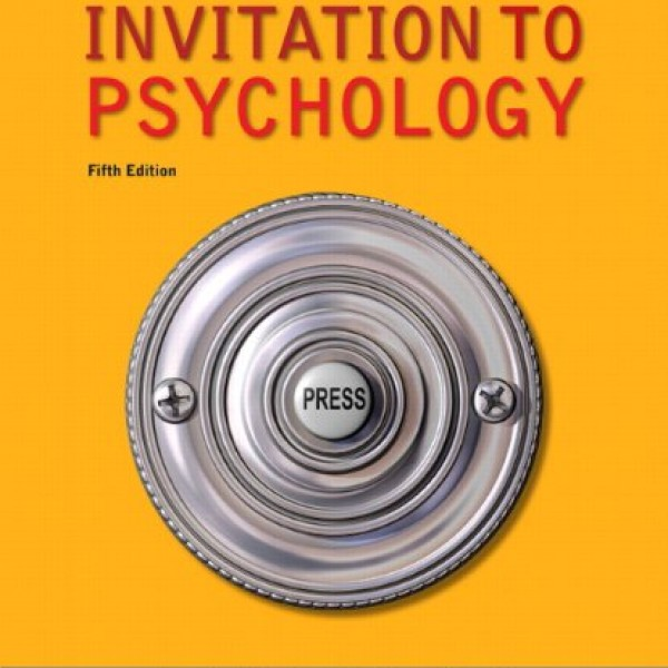 Solution Manual for Invitation To Psychology 5/E by Wade