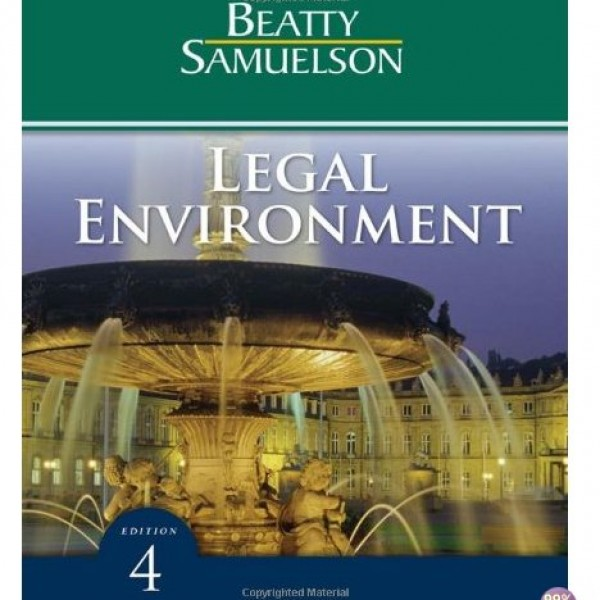 Test Bank for Legal Environment 4/E by Beatty