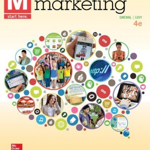 Test bank for M Marketing 4/E by Grewal