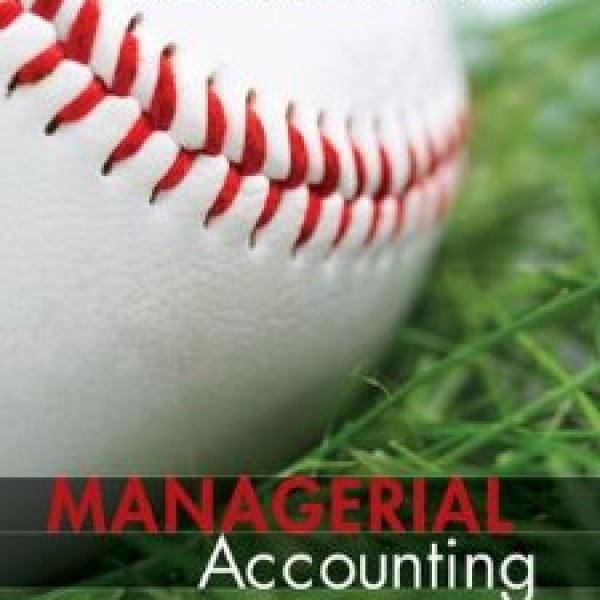 Test Bank for Managerial Accounting 1/E by Davis