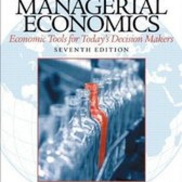Solution Manual for Managerial Economics 7/E by Keat