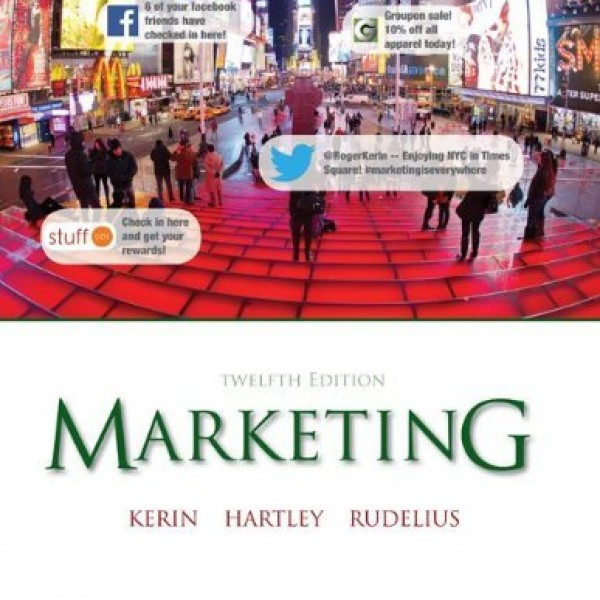 Test bank for Marketing 12/E by Kerin