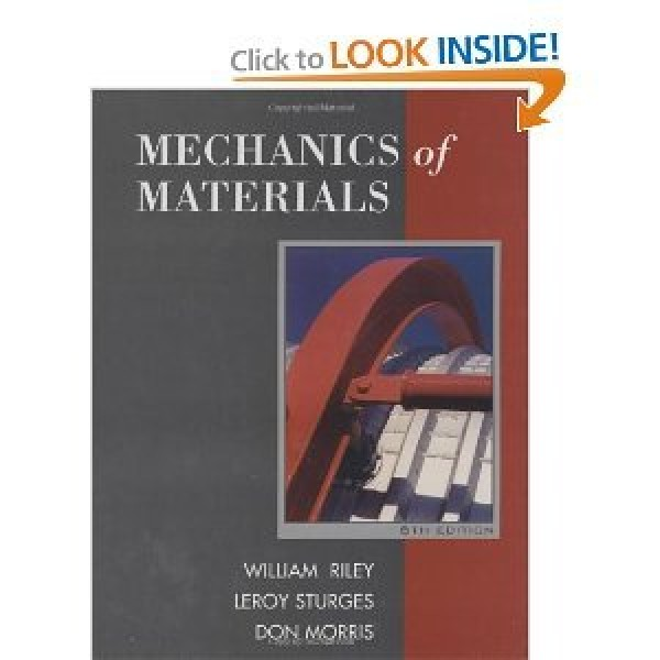 Solution Manual for Mechanics Of Materials 6/E by Riley
