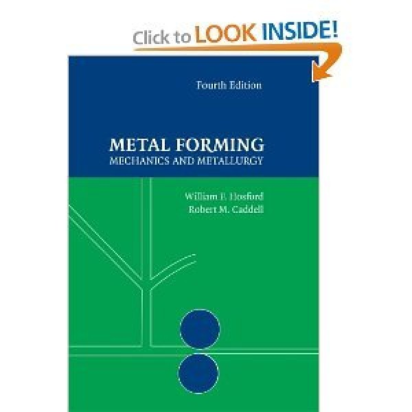 Solution Manual for Metal Forming Mechanics And Metallurgy 4/E by Hosford