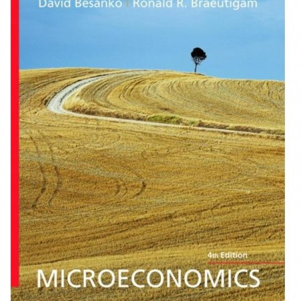 Solution Manual for Microeconomics 4/E by Besanko