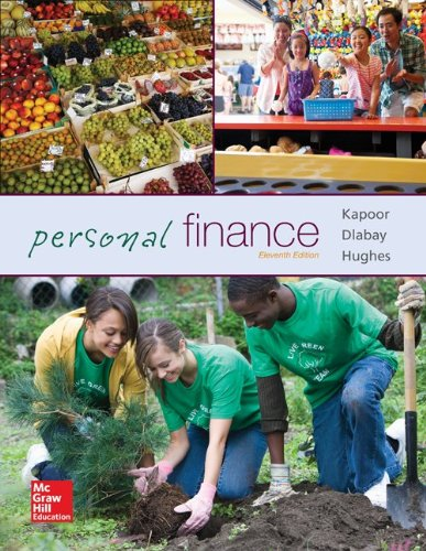 Personal Finance 11th Edition By Kapoor, Dlabay, Hughes, Hart - Test Bank
