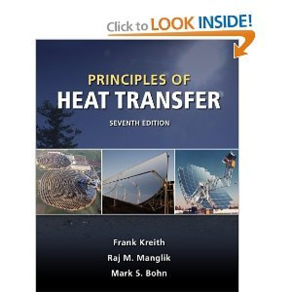 Solution Manual for Principles Of Heat Transfer Kreith Manglik Bohn 7/E by Kreith