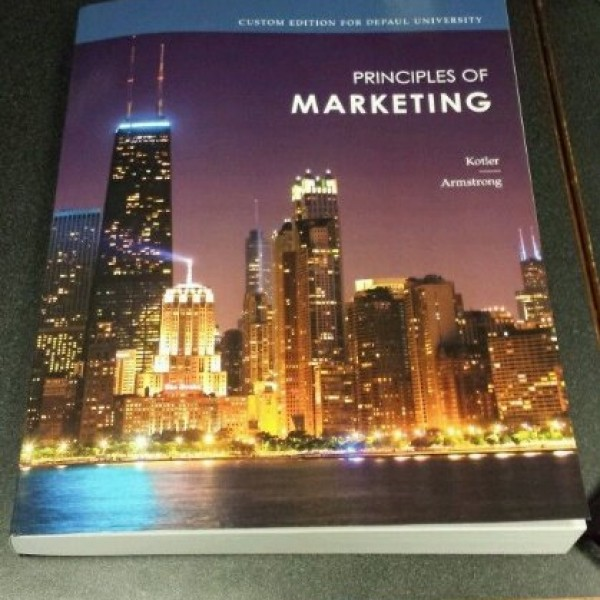 Solution Manual for Principles Of Marketing 15/E by Kotler