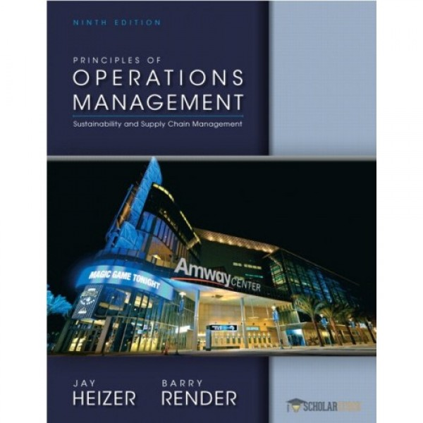 Test Bank for Principles Of Operations Management 11/E by Heizer