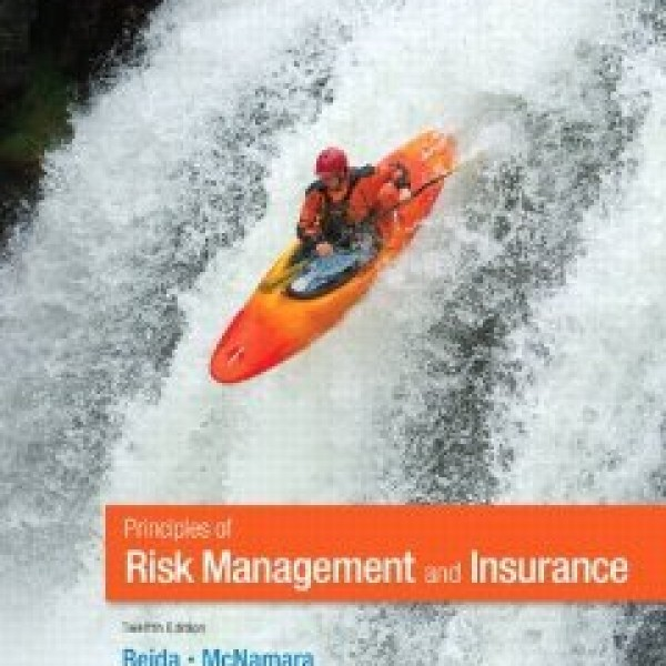 Solution Manual for Principles Of Risk Management And Insurance 12/E by Rejda