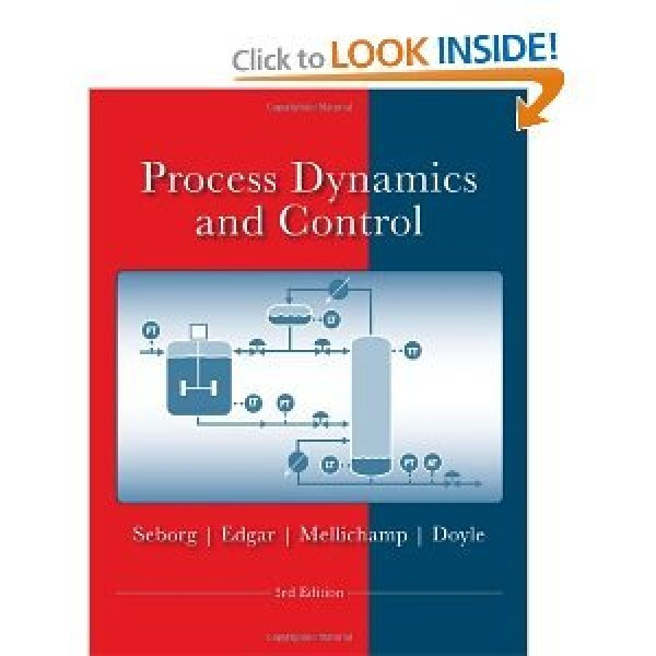 Solution Manual for Process Dynamics And Control Seborg 3/E by Seborg