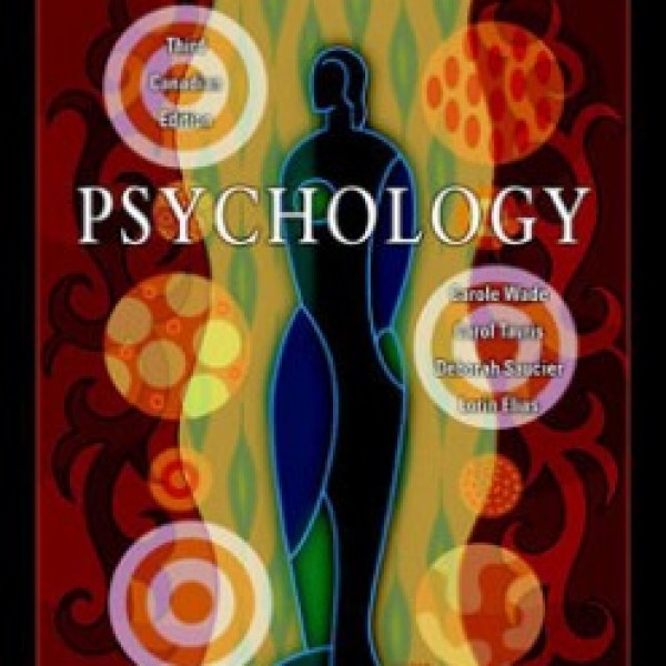 TestBank for Psychology 3/E Canadian Edition by Wade