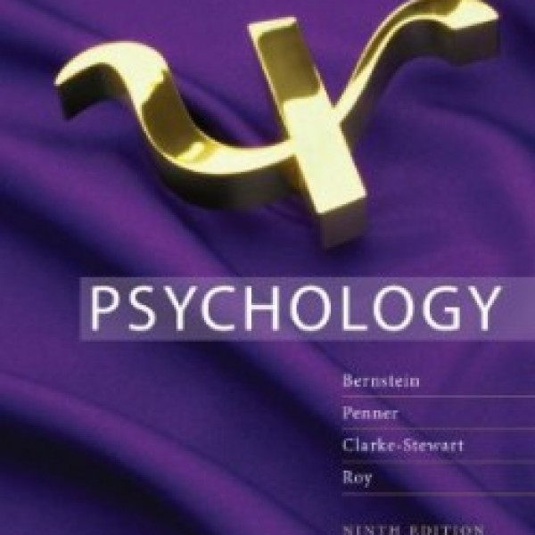 TestBank for Psychology 9/E by Bernstein