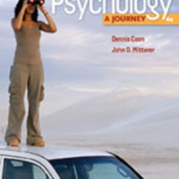 TestBank for Psychology A Journey 4/E by Coon