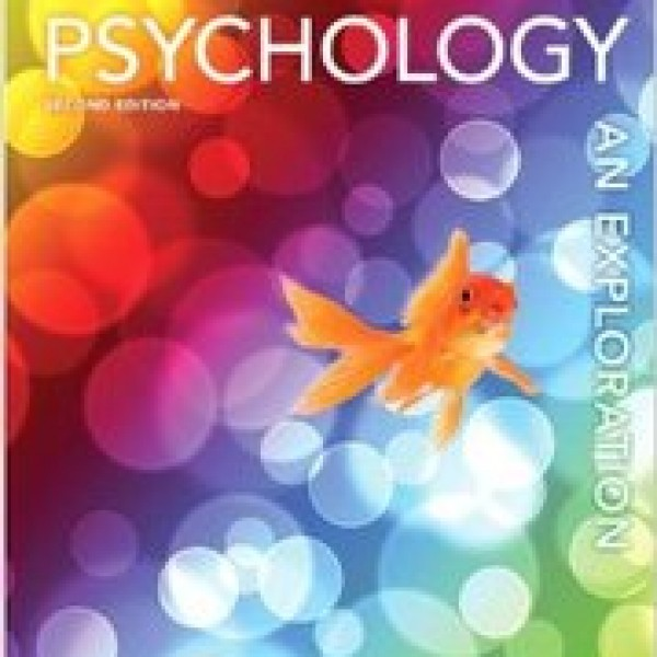 TestBank for Psychology An Exploration 2/E by Ciccarelli