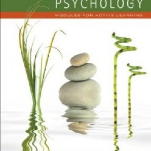 TestBank for Psychology Modules For Active Learning 12/E by Coon