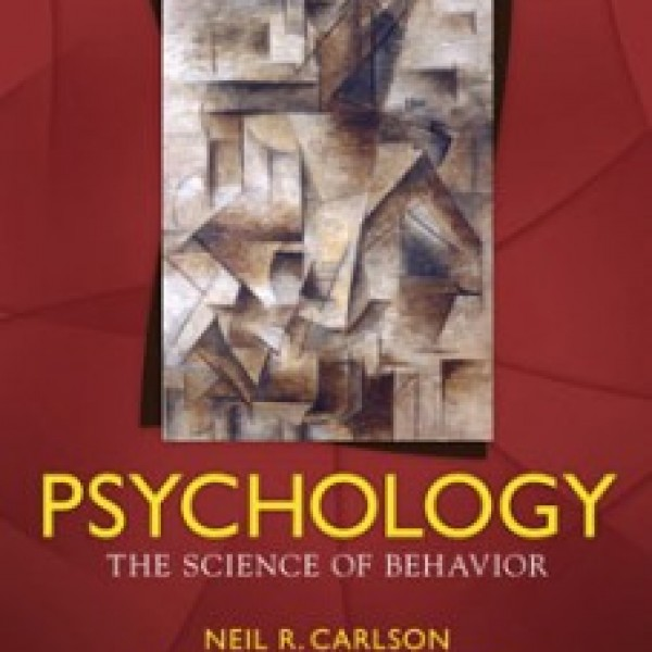 TestBank for Psychology The Science Of Behavior 7/E by Carlson