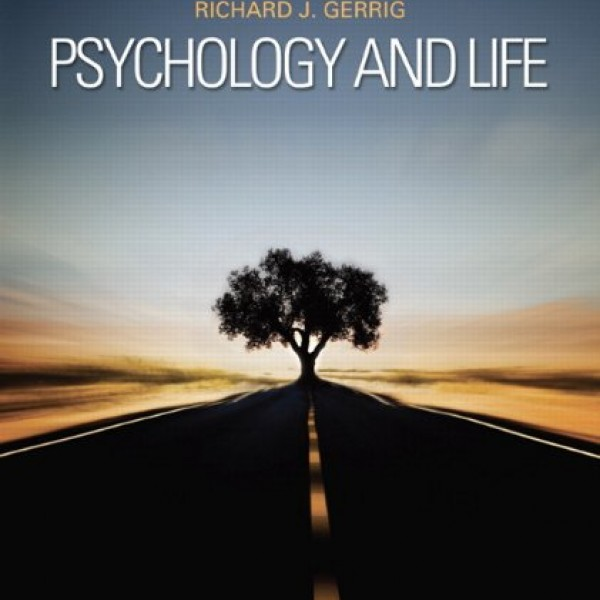Solution Manual for Psychology And Life 20/E by Gerrig