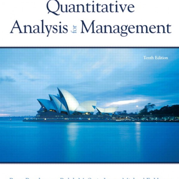 Solution Manual for Quantitative Analysis For Management 10/E by Render