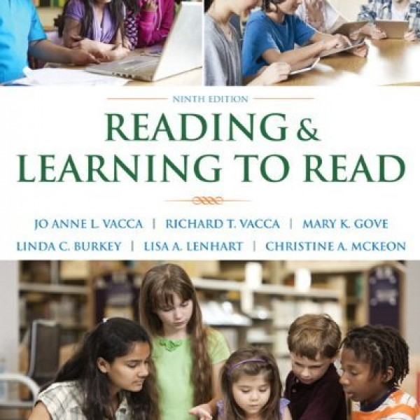 Test bank for Reading And Learning To Read 9/E by Vacca