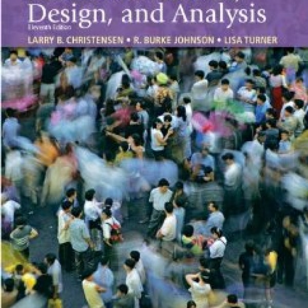 Test Bank for Research Methods Design And Analysis 11/E by Christensen