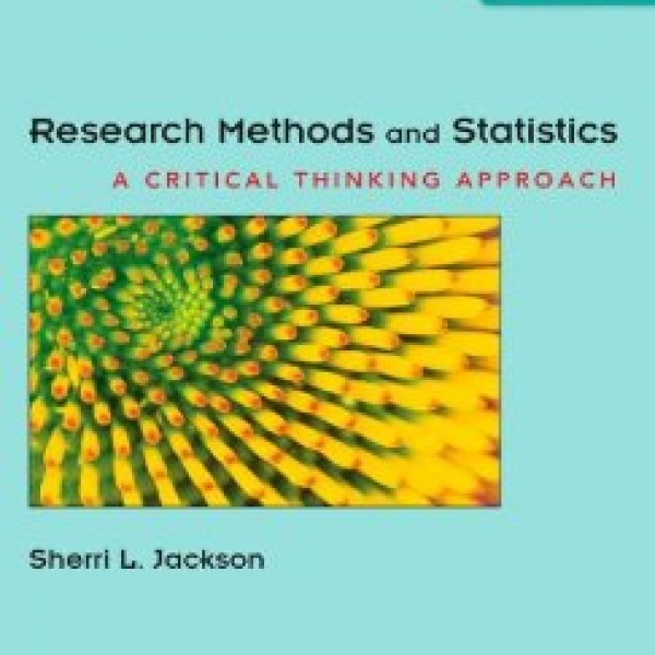 Test Bank for Research Methods And Statistics 4/E by Jackson