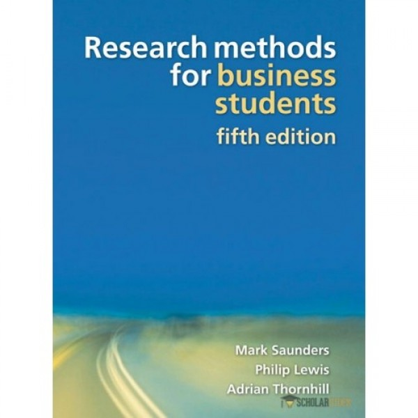 Solution Manual for Research Methods For Business Students 5/E by Saunders