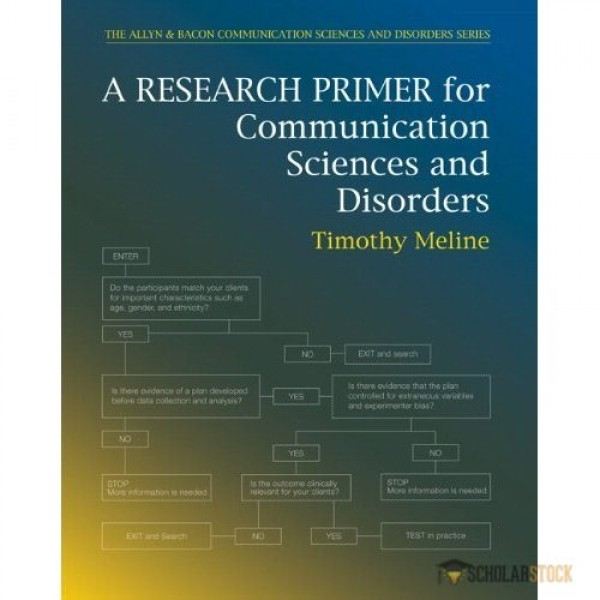 Test Bank for Research Primer For Communication Sciences And Disorders 1/E by Meline