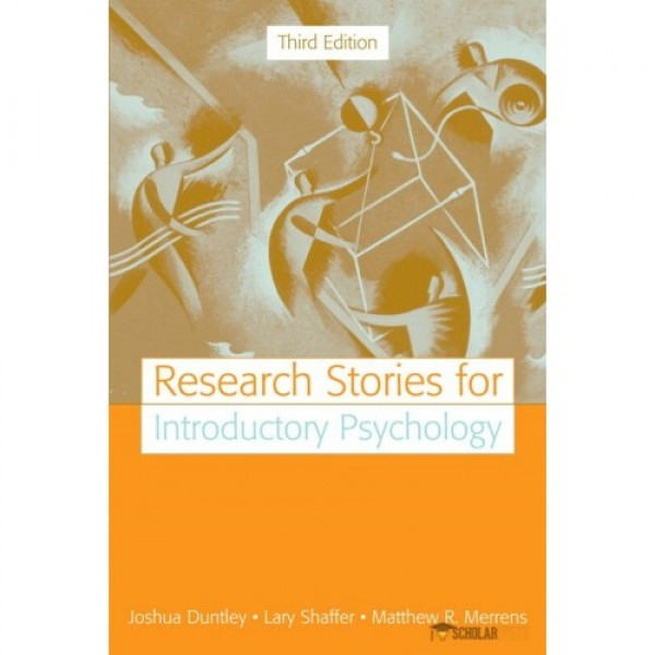 Test Bank for Research Stories For Introductory Psychology 3/E by Duntley