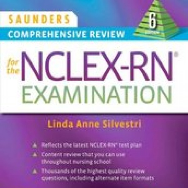 Test Bank for Saunders Comprehensive Review For The Nclex-Rn Examination 6/E by Silvestri