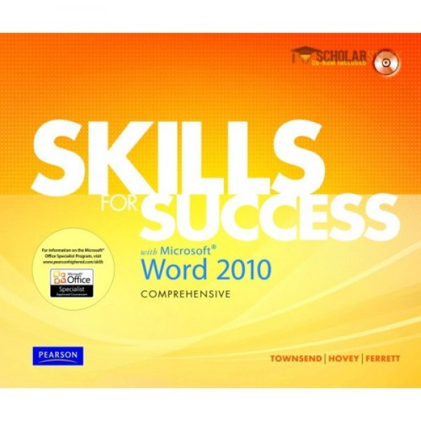 Test Bank for Skills For Success With Microsoft Word 2010, Comprehensive 1/E by Townsend