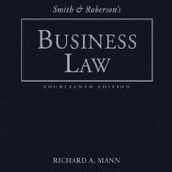 Test Bank for Smith And Robersons Business Law 14/E by Roberts