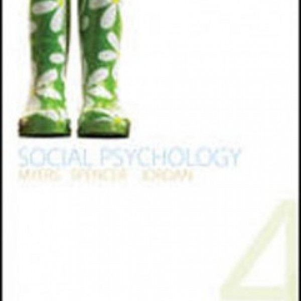 Test Bank for Social Psychology 4/E Cana by Myers