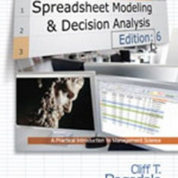 Test Bank for Spreadsheet Modeling And Decision Analysis A Practical Introduction To Management Science 6/E by Ragsdale