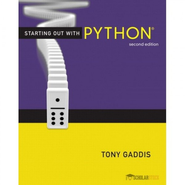 Test Bank for Starting Out With Python 2/E by Gaddis