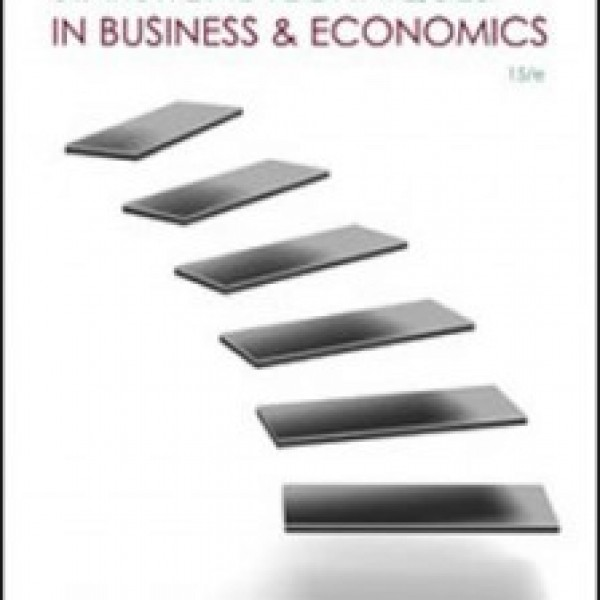 Test Bank for Statistical Techniques In Business And Economics 15/E by Lind