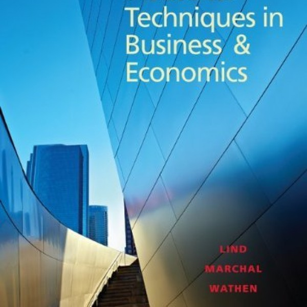 Test bank for Statistical Techniques In Business And Economics 16/E by Lind