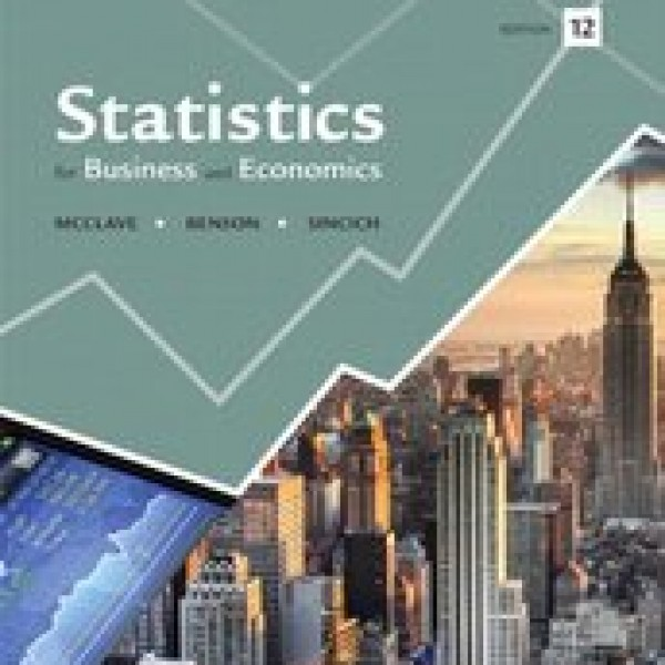 Test Bank for Statistics For Business And Economics 12/E by Mcclave