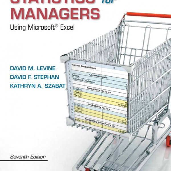 Test bank for Statistics For Managers Using Microsoft Excel 7/E by Levine