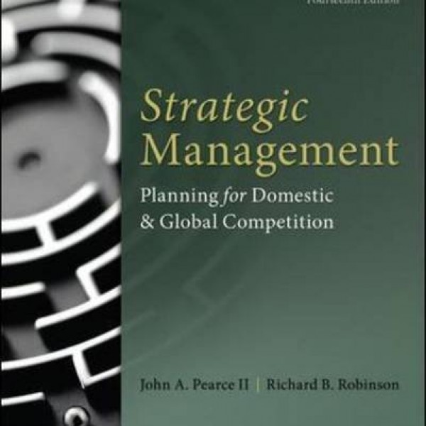 Test bank for Strategic Management 14/E by Pearce