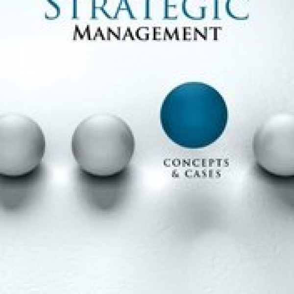 TestBank for Strategic Management Concepts And Cases Rothaermel 1/E by Rothaermel