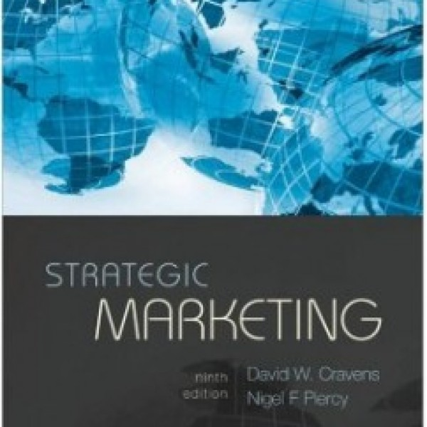 Test Bank for Strategic Marketing 9/E by Cravens