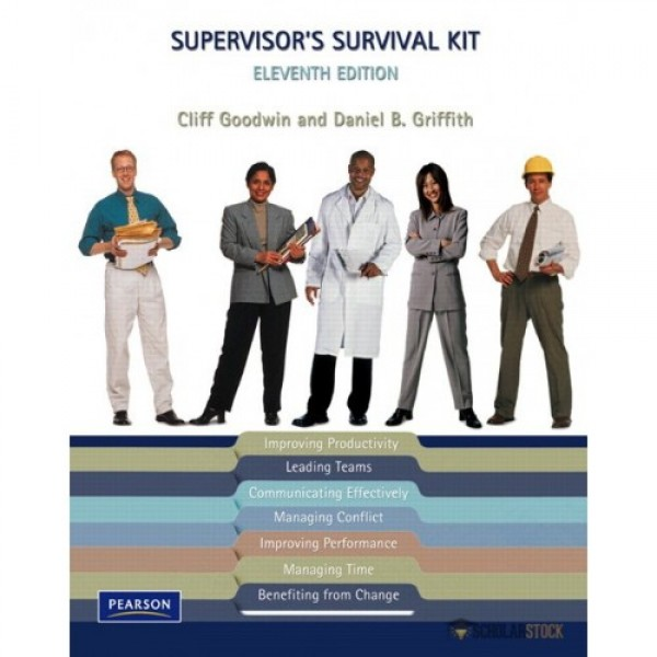 Test Bank for Supervisor'S Survival Kit 11/E by Goodwin