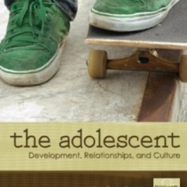 Test Bank for The Adolescent Development Relationships And Culture 13/E by Dolgin