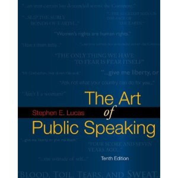 Test Bank for The Art Of Public Speaking 10/E by Lewis