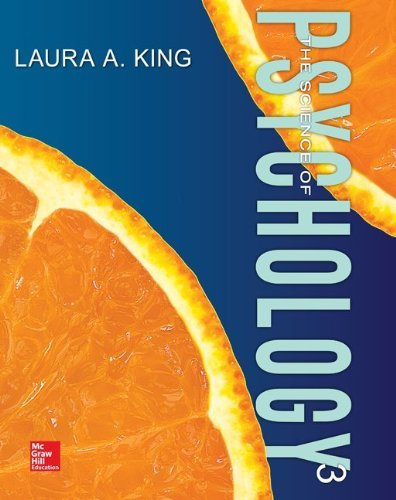 The Science of Psychology An Appreciative View King 3rd Edition Test Bank