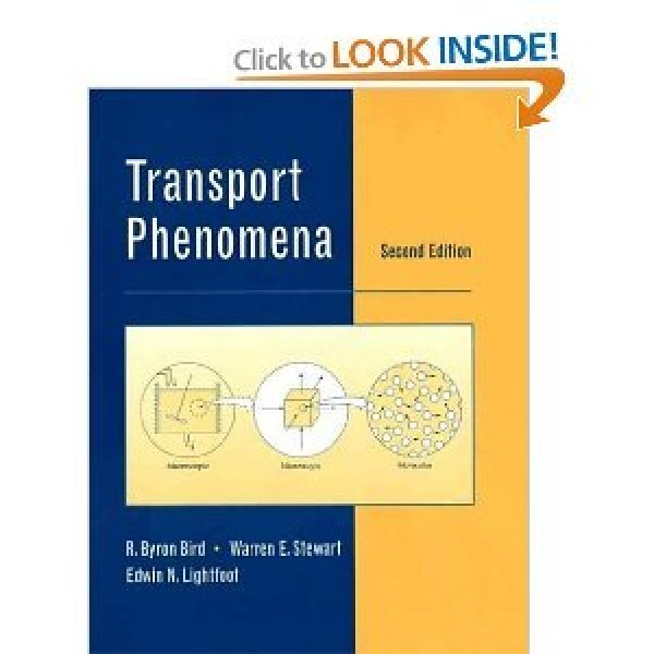 Solution Manual for Transport Phenomena 2/E by Bird
