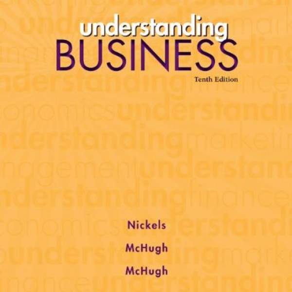 Test Bank for Understanding Business 10/E by Mchugh