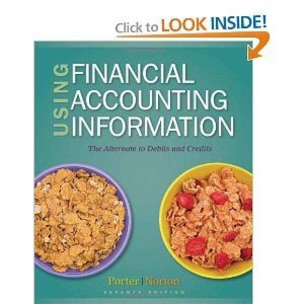 Solution Manual for Using Financial Accounting Information The Alternative To Debits And Credits 7/E by Porter