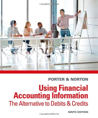 Using Financial Accounting Information The Alternative to Debits and Credits 9th Edition By Porter, Norton - Test Bank